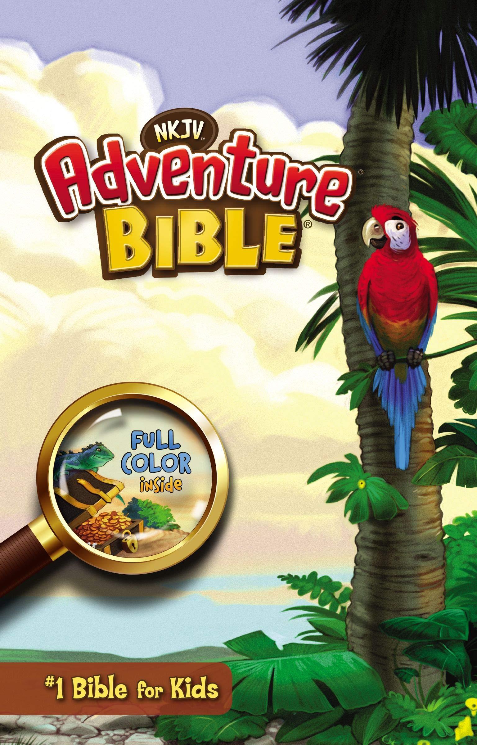 NKJV, Adventure Bible, Hardcover, Full Color: Lawrence O