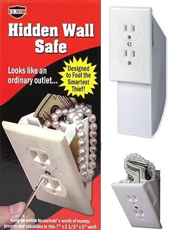 Hidden Wall Safe - Diversion Safe - Outlet Safe - Stash Box - Hide Valuables
