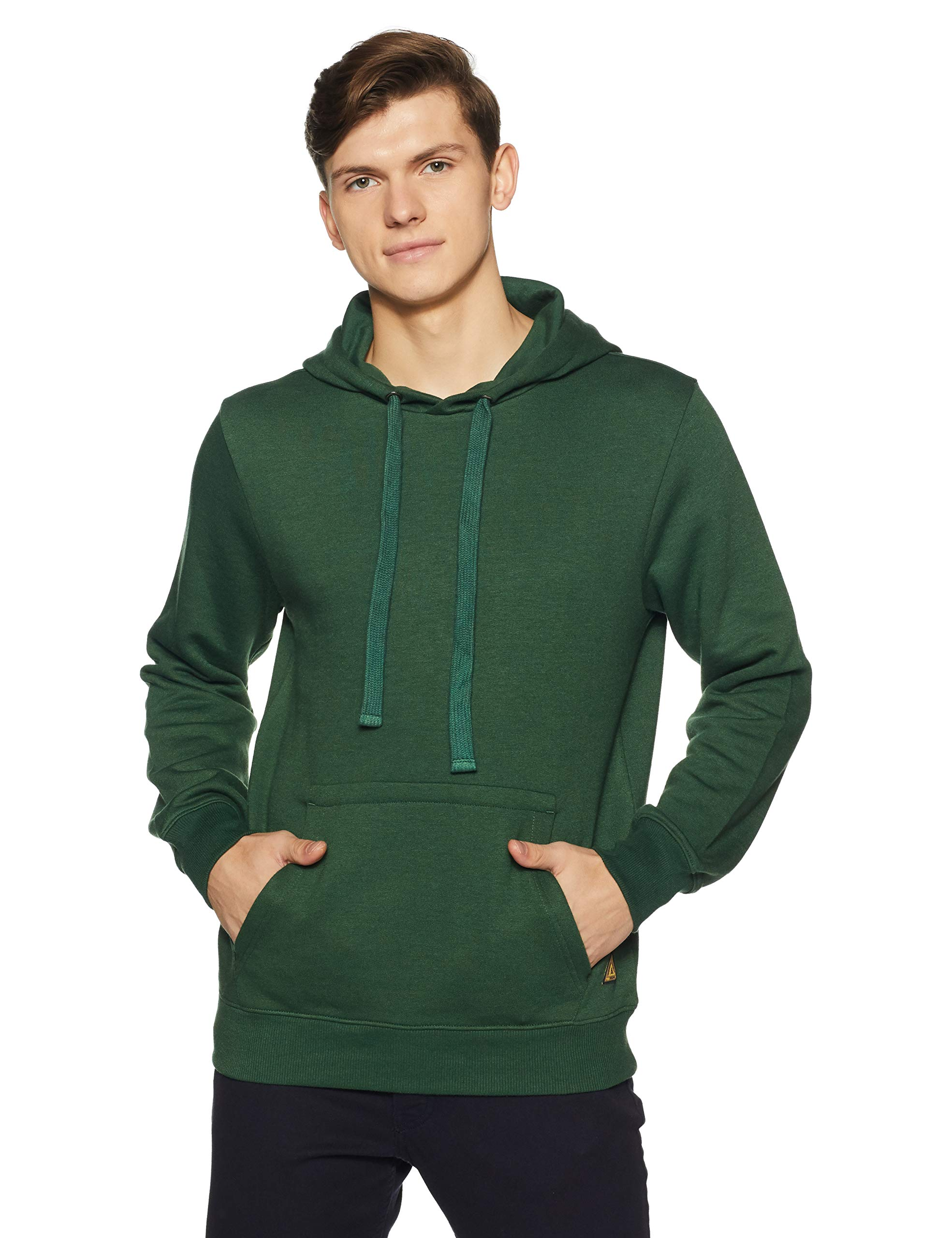 Amazon Brand - Symbol Men's Sweatshirt (AW18MNSSW02F_Post Green_Medium) (B07DNW2CWY) Amazon Price History, Amazon Price Tracker
