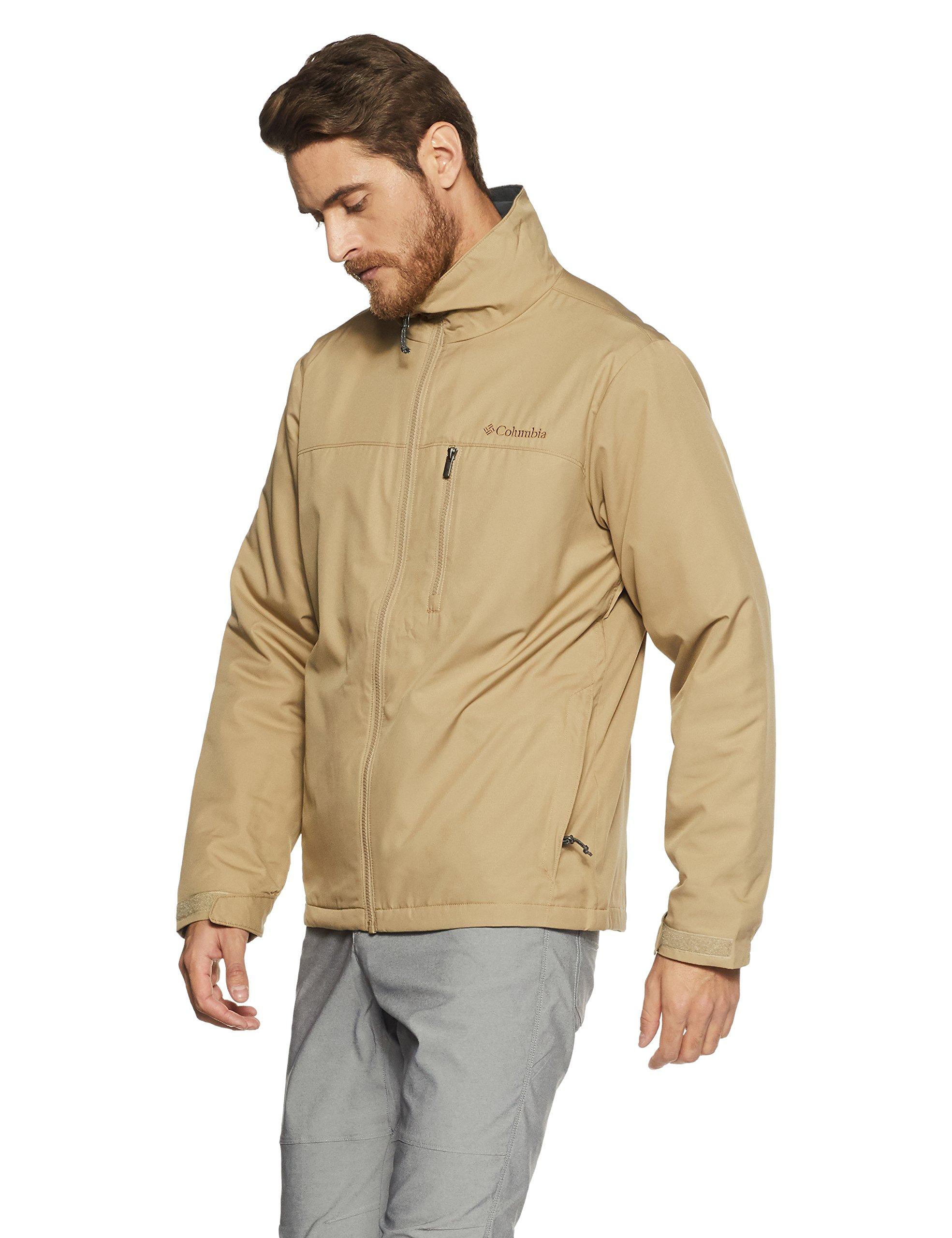 Columbia Men's Utilizer Jacket, British Tan, Medium by Columbia