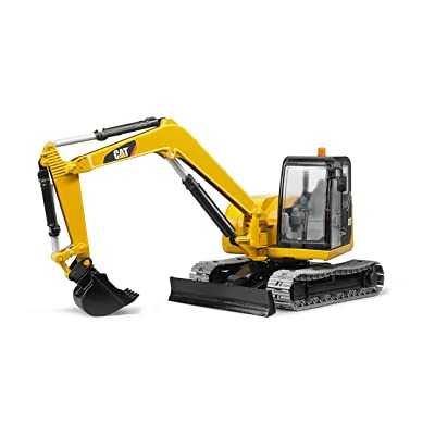 Bruder 02457 CAT Mini Excavator Vehicle Toys: Toys & Games