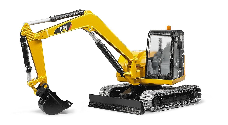 Promoción por tiempo limitado Bruder Toys CAT Mini Excavator Vehicle by Bruder Toys