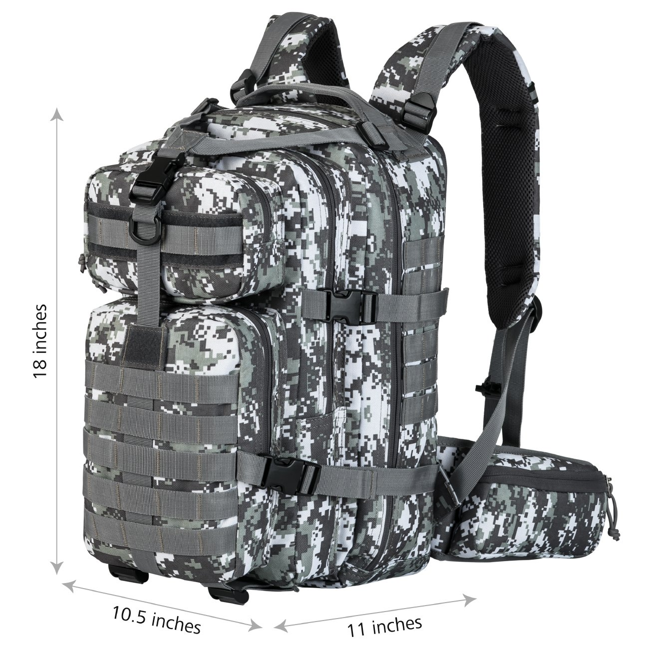 d1aa83aac8 Amazon.com  Gelindo Military Tactical Backpack