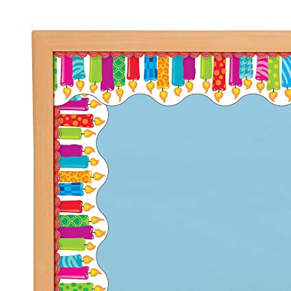 Amazon.com: Fun Express - Birthday Candles Bb Border ...