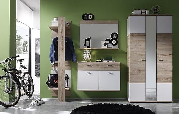 Trendteam smart living garderobe wandspiegel campus 90 x 68 x 15 cm