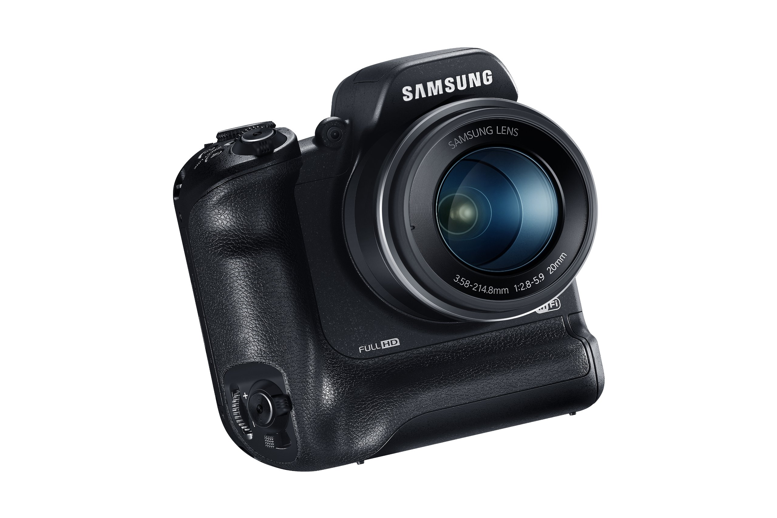 Samsung WB2200F 16.3MP CMOS Smart WiFi & NFC Digital Camera with 60x Optical  Zoom, 3.0'' LCD and 1080p HD Video (Black) by Samsung (Image #9)