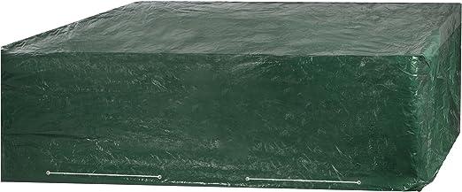 Ultranatura Couverture de Meubles housse de protection robuste pour un  salon de jardin complet, 250x210x90cm, Vert