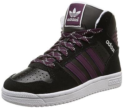 adidas Pro Play 2 K, Chaussures de Basketball fille, Noir