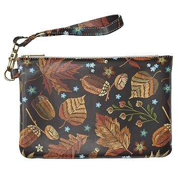Autumn Leaves Makeup Bag