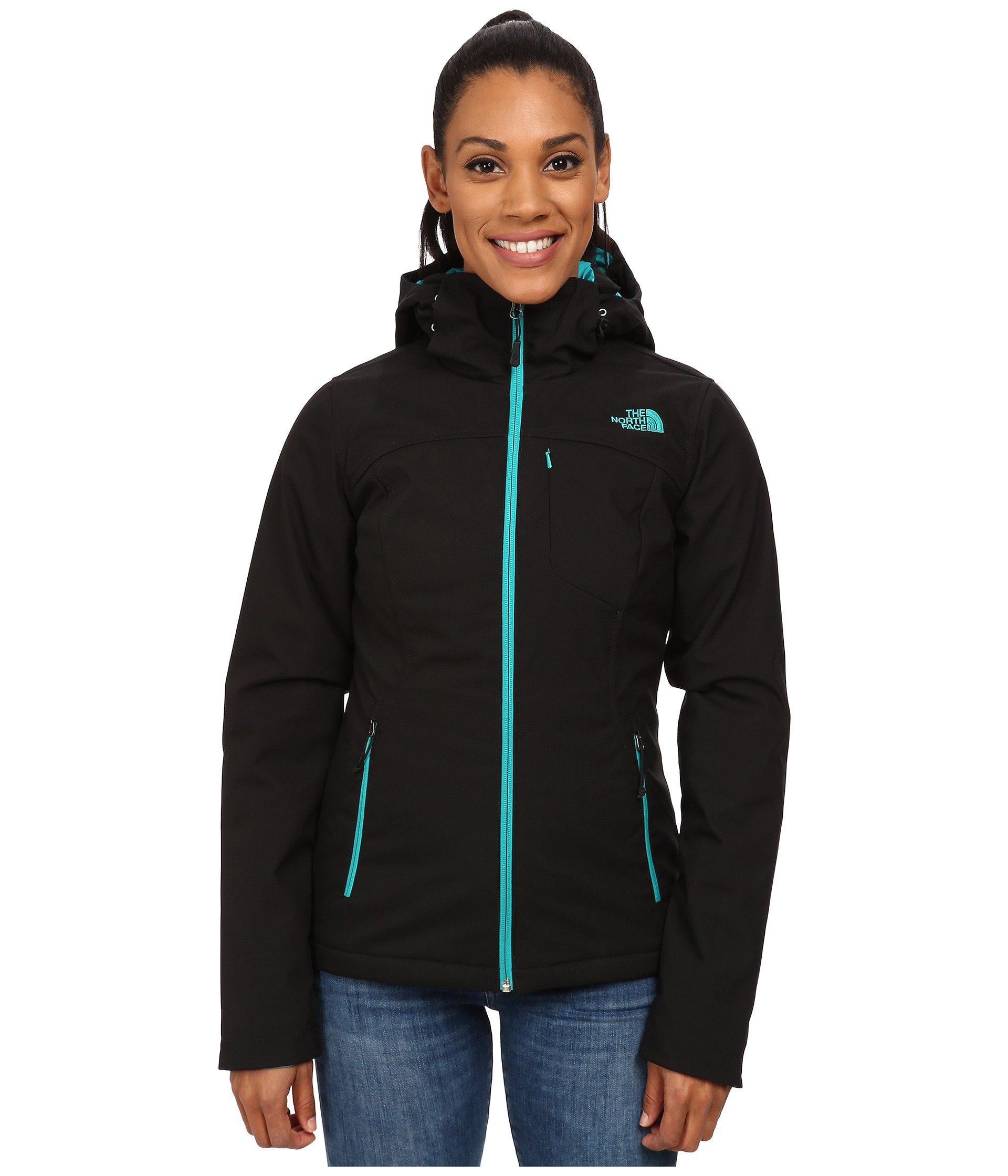 The North Face Apex Elevation Jacket Womens TNF Black/Kokomo Green M