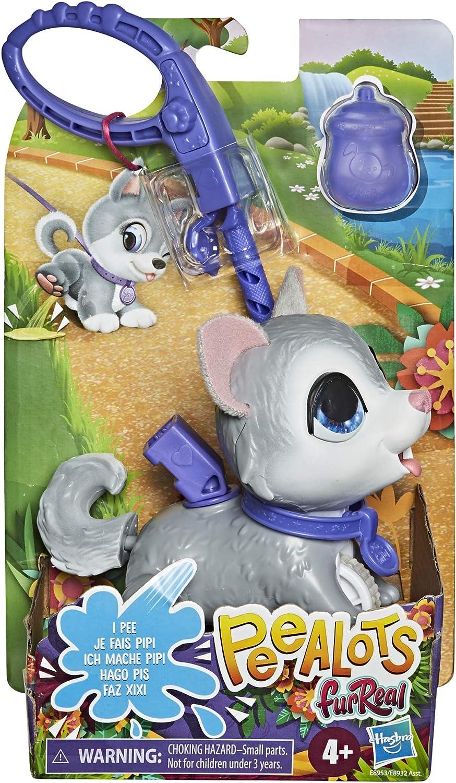 Hasbro furReal Peealots Lil/' Wags Husky Interactive Pet Toy