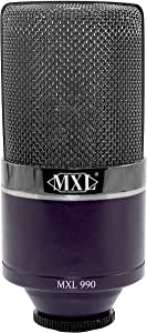MXL Condenser Microphone, Midnight (MXL990MIDNIGHT)