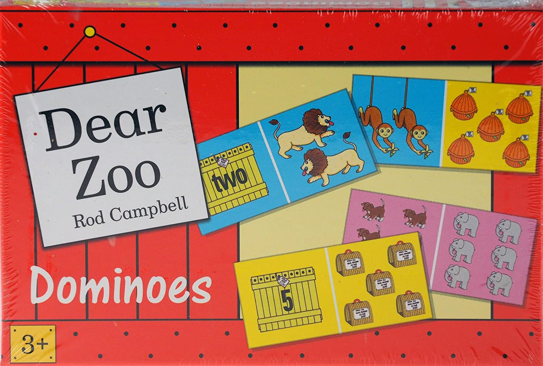 DEAR ZOO DOMINOES PAUL LAMOND GAMES 3+