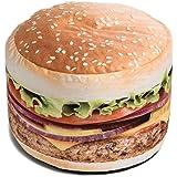 Wow! Works Hamburger Bean Bag Chair, Mid Size (646927)