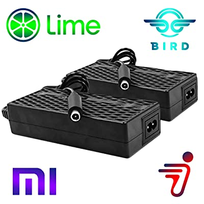 Heavy Duty 2 Pack Bird Lime Electric Scooter Chargers UL Certified Compatible with Xiaomi Mijia m365 Segway Ninebot ES 1 2 4 by Titan Pack: Home Audio & Theater
