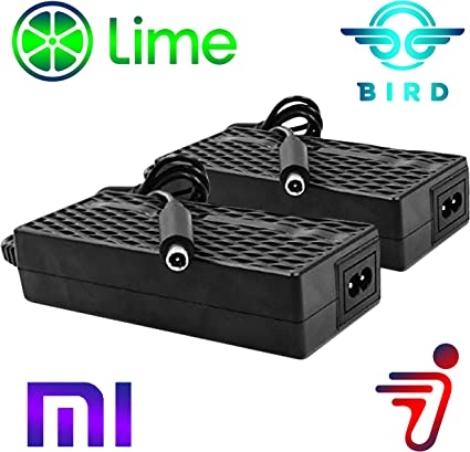 Seller*Charger for BIRD LIME Xiaomi Mijia M365 Electric Scooter 42V 6 Pack *U.S