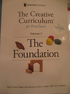 Creative curriculum for infants toddlers and twos volume 1 the the creative curriculum for preschool the foundation vol 1 fandeluxe Gallery