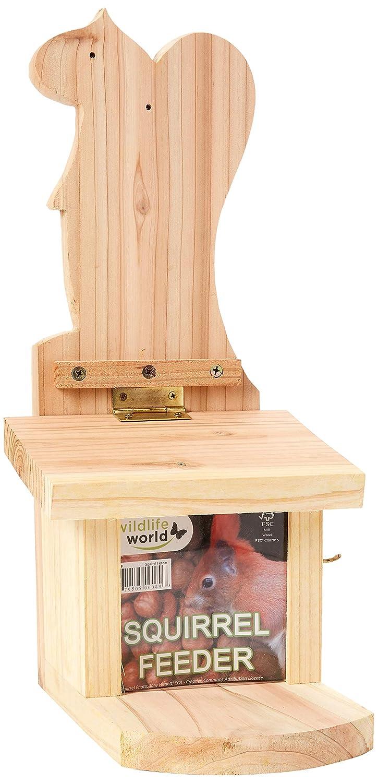 Wildlife World Outline Squirall Feeder RNP1&2 Bird Care Nest Boxes Pets & Wildlife
