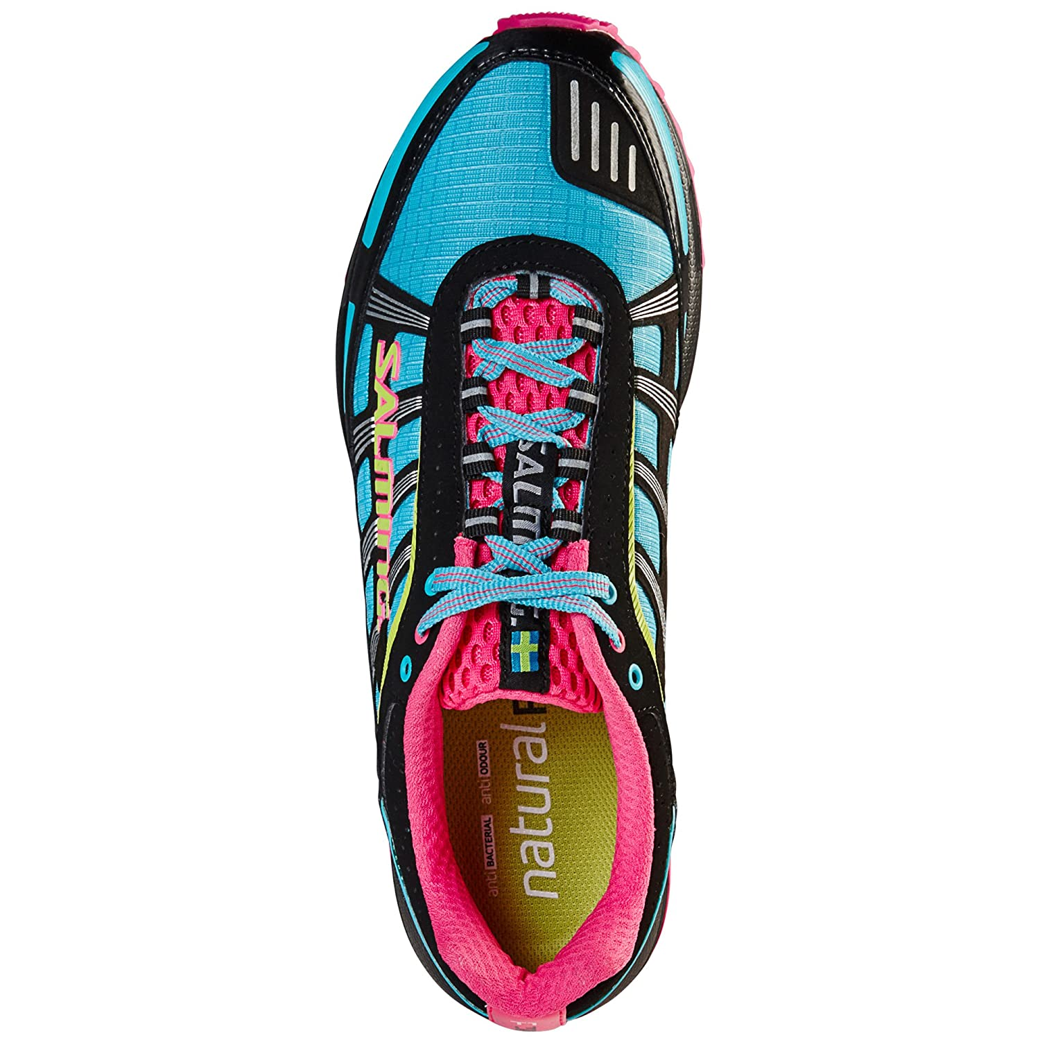 Salming Trail T2 8.5 Women's Running Shoes - SS16 B01HUVEIX6 8.5 T2 B(M) US|Black 44588c