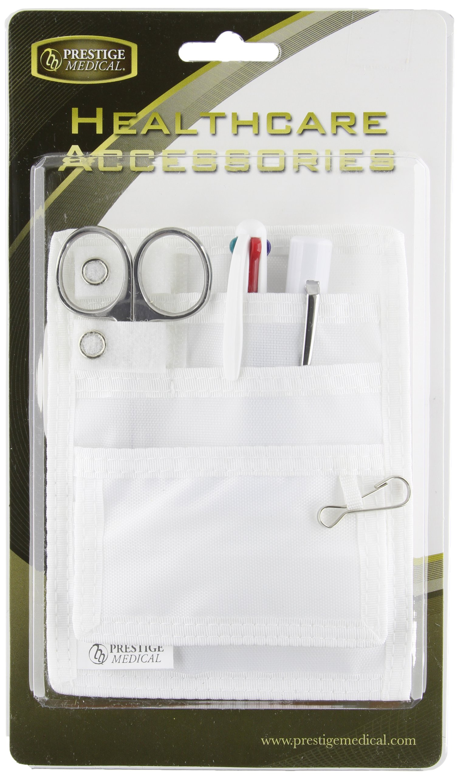 Prestige Medical Nurse Belt Loop Organizer Pal Kit - White