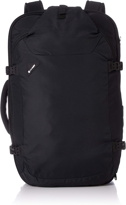 Pacsafe Venturesafe EXP45 Anti-Theft Carry-On Travel Backpack, Black