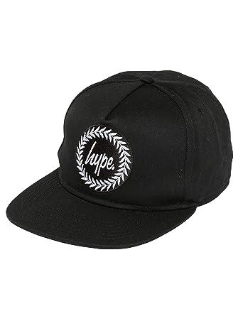 HYPE Men Caps Snapback Cap Crest Black - 452507 Adjustable  Amazon ... f615c7c216
