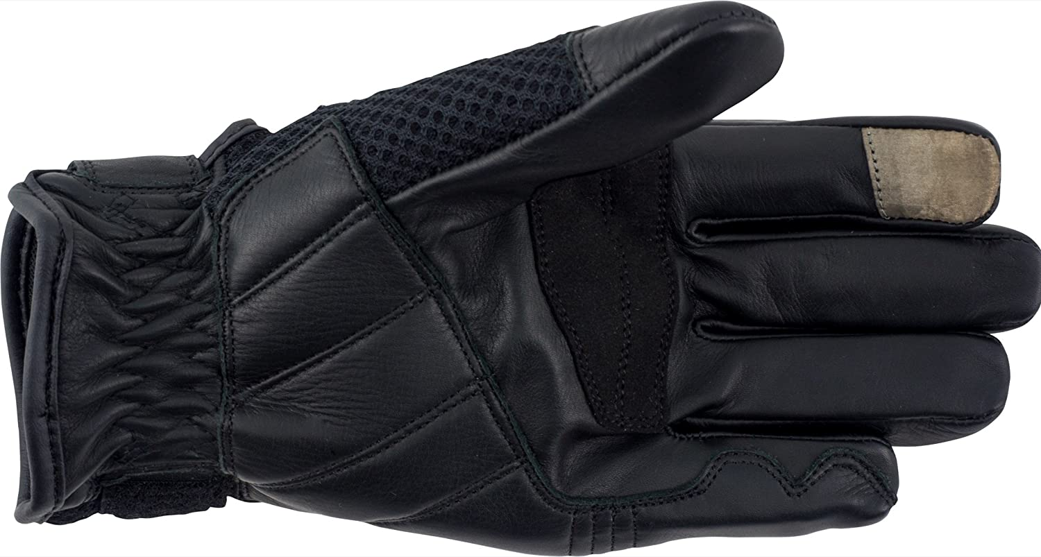 Pilot Motosport Slate Mesh//Leather Motorcycle Glove