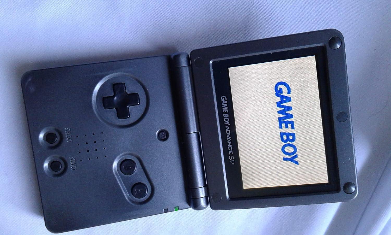 Amazon.com: Nintendo Game Boy Advance SP AGS-101 Onyx Black ...