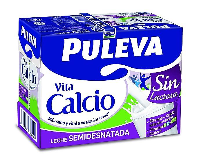 Leche con calcio sin lactosa
