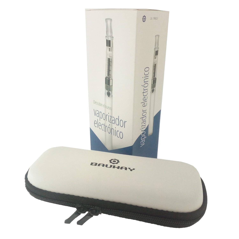 BAUWAY - VAPORIZADOR TÁCTIL CON PRÁCTICO ESTUCHE - Cigarrillo electrónico - Vapeador - E Cigarrillo - Más densidad de vapor. Menor consumo: Amazon.es: Salud ...