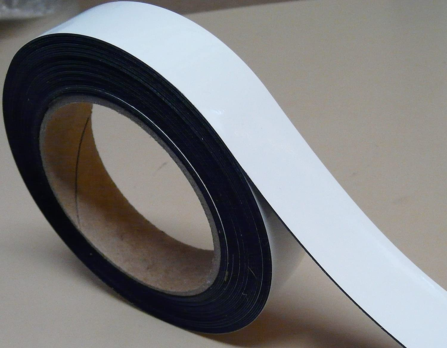 1' x 10' Dry Erase White Magnetic Strip Roll Write on / Wipe off Magnet Magnet Valley