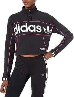 adidas Originals Women's Cropped Hooded Sweatshirt at Amazon