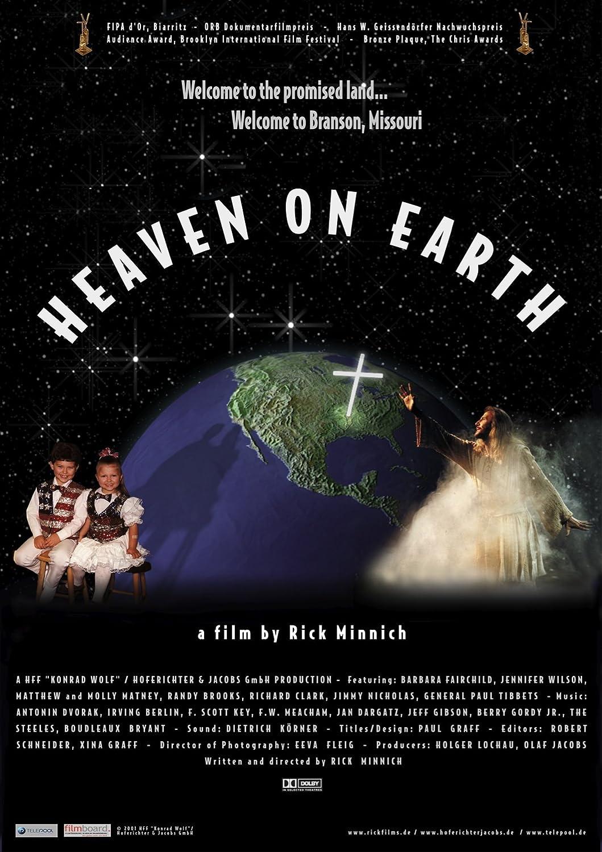 Poster design w graff - Amazon Com Branson Heaven On Earth Randy Brooks Jennifer Wilson Barbara Fairchild Matthew Matney Molly Matney Jimmy Nicholas Paul W Tibbets