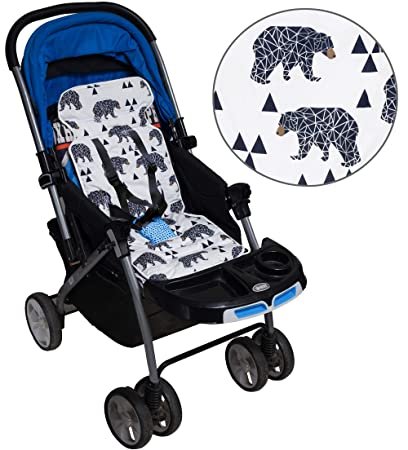 Activity & Gear Baby Stroller Cotton Pad Childrens Chair Cushion Seat Thicken Cushion Fashion Baby Diaper Stroller Cushion Cotton Stroller Strollers Accessories
