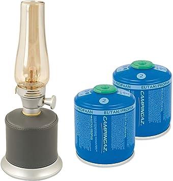 Campingaz Ambiance linterna de gas Equipster inklsuive 2 x CV300 Kartusch