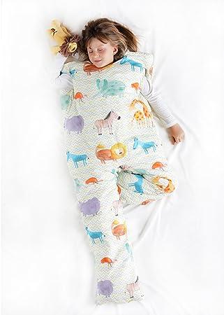 Norkid ORIGINAL. Sacos de dormir infantiles con piernas. Talla 5 años. Relleno FINO, Modelo SABANA.: Amazon.es: Hogar