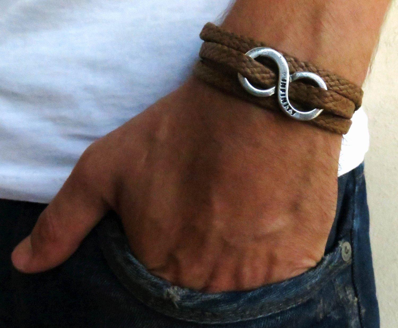 Men's Bracelet - Men's Infinity Bracelet - Men's Vegan Bracelet - Men's Jewelry - Jewelry For Men - Bracelets For men - Male Jewelry - Male Bracelet - Friendship Bracelet - Friendship Jewelry