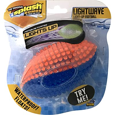 Luminator Lightwave Light-up Football: Toys & Games