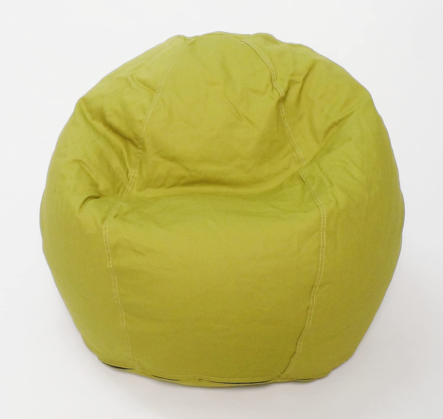 Amazon Bean Products fy Bean Beanbag Small Cotton Gray