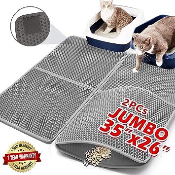 Amazon.com: Alfombrillas de arena para gatos mejoradas ...
