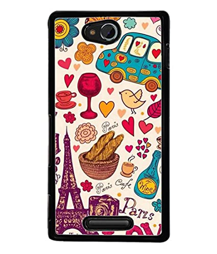 check out 0a551 398b2 Sony Xperia C S39h, Sony Xperia C C2305 Back Cover: Amazon.in ...