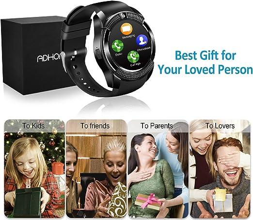 Bluetooth Smart Watch Phone Touchscreen Armbanduhr Handy-uhr Sport ...