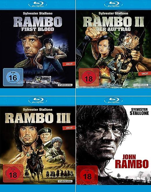 Rambo - DVD Box - Blu Ray