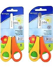 Westcott Children's Kid's Left Handed Scissors with Ruler Edge - Pack of 2