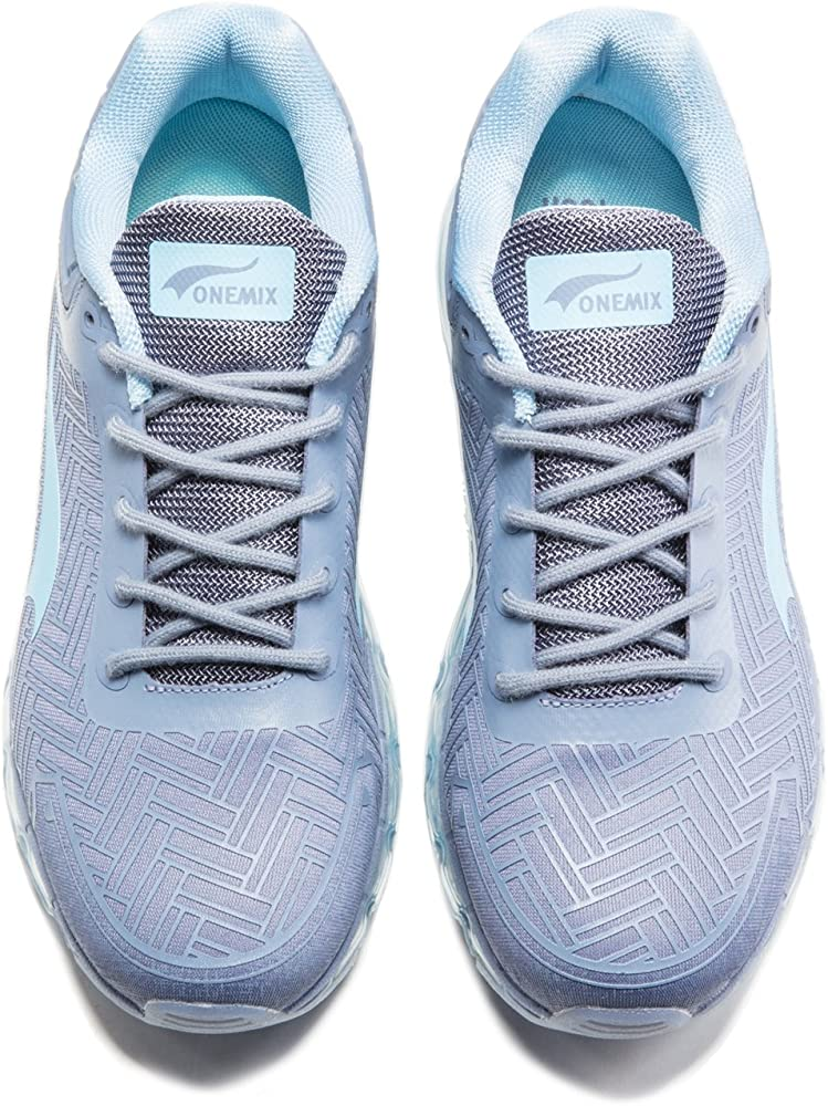 ONEMIX Chaussure de Course Homme Sneakers Loisir Coussin d