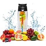 Half Price Sale (See Coupon) Fruit Infuser Bottle Flip Top Tritan No BPA Leak Proof with Handle