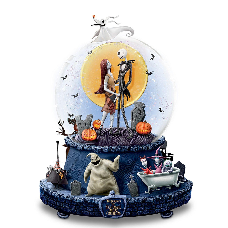 Amazon.com: Disney The Nightmare Before Christmas Musical Glitter ...