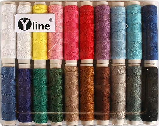 Surtido. Hilo superior de algodón, hilo de coser Ne 50/3, 20 ...
