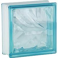 5 piezas FUCHS bloques de vidrio nube caribe