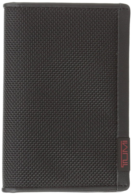 TumiメンズAlphaマルチウィンドウカードホルダー One Size ブラック B0059QDXS6
